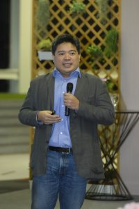 Rico Gonsalez in Dinner Talk by Social Enterprise Thailand