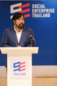 ม.ล.ดิศปนัดดา ดิศกุล นายกสมาคมธุรกิจเพื่อสังคม (SE Thailand)