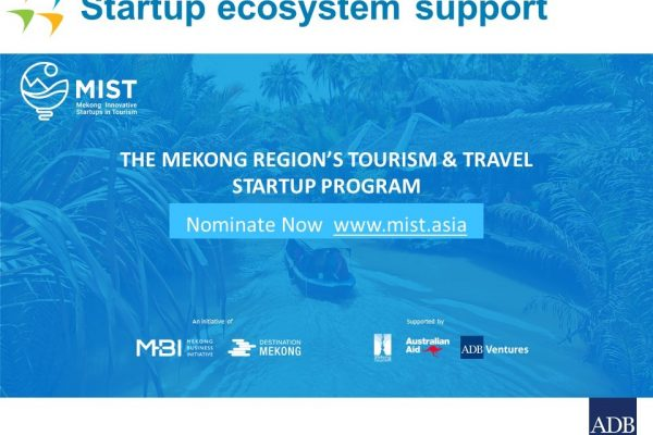 Mekong Innovative Startups in Tourism program