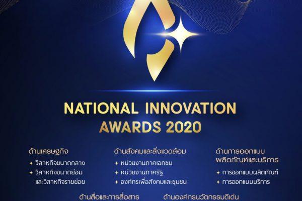 รางวัลนวัตกรรมแห่งชาติปี 2563