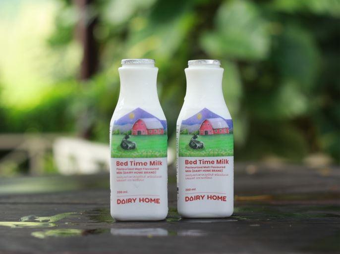 Bed Time Milk หรือ นมก่อนนอน นมที่อุดมไปด้วยเมลาโทนินจากธรรมชาติสูง ช่วยให้นอนหลับสนิทและพักผ่อนได้เพียงพอ - งานวิจัยที่ Dairy Home ทำร่วมกับมหาวิทยาลัยเทคโนโลยีสุรนารี